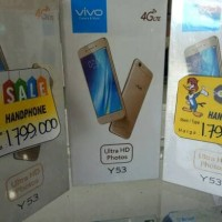 Vivo Y53 +quotasimpati 30GB +tongsis