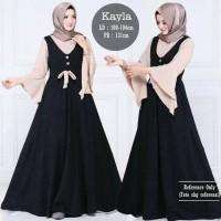 Kayla maxi Black