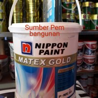 Matex Gold Cat Tembok Interior Tinting / Oplos Nippon Paint