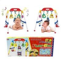 Jual Musical play gym - mainan edukasi bayi baby gym terbaru lucu Murah