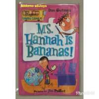 Harga my weird school ms hannah is bananas by dan gutman buku import | antitipu.com
