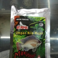 umpan pancing ikan nila atau mujair djempol makjooos