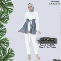 Disha set 2in1 White - Grey