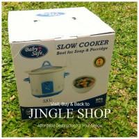 Jual Slow Cooker Baby Safe 1.5liter Murah