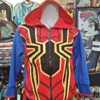 Jual Spiderman The Spectacular Hoodies-Jaket-Sweater Anak Avangers-Marvel Murah