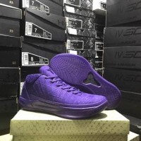 Sepatu Basket Kobe A.D ( AD A D ) MID Lakers Purple Ungu