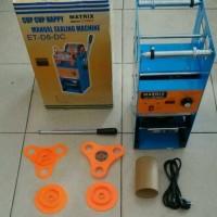 Mesin Cup Sealer Alat Press Gelas Plastik Digital Counter Matrix Eton