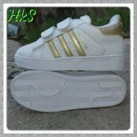 harga Sepatu Kets Anak Putih Emas Adidas Superstar Import Sport Shoes Bayi Tokopedia.com