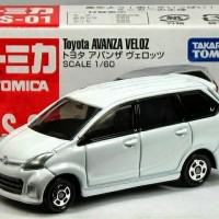 Diecast Toyota Avanza Veloz White by Tomica 1/64