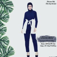 Disha set 2in1 Navy - White