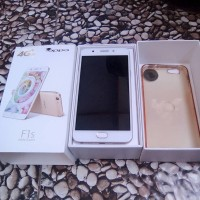 Hp oppo F1S 4G LTE All jaringan telkomsel Three indosayMasih full set