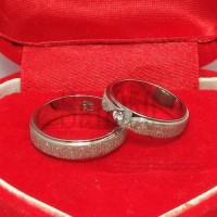 Jual cincin couple palladium R4641 Murah