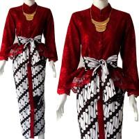 Jual Batik Wanita Modern Batik Peplum Kebaya Pesta Kebaya Bali Kebaya Murah Murah