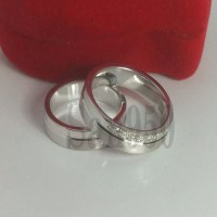 Jual cincin paladium couple R3913 Murah