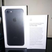 iPhone 7 128 GB Black Matte BNIB Garansi ibox