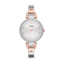 TERBARU jam tangan wanita merk FOSSIL GIORGIO COMBINASI ORI BM type FS