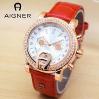 KUALITAS TERBAIK jam tangan wanita merk AIGNER BARI kw 1 ORIGINAL