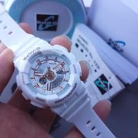 EXLCUSIVE jam tangan wanita merk CASIO BABY-G ORI BM type BA 110 / BA1