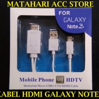 KABEL MICRO USB TO HDMI 1080P ADAPTER KABEL SAMSUNG GALAXY NOTE 3 2 W
