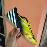 Sepatu Futsal Anak Original Adidas Predito LZ IN Hitam Kuning