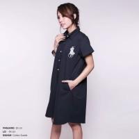 harga Rl Shirt Dress Baju Panjang Terusan Wanita Polo Shirt (cdr135) Tokopedia.com