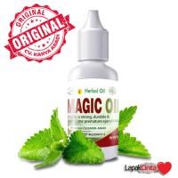 Magic Oil Minyak Herbal untuk Bikin Keras dan Kuat