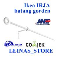 IKEA IRJA / batang gorden / rel gorden / tirai / gordyn / batang tirai