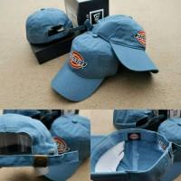 topi baseball dickies - dickies cap original import - biru muda