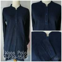 Atasan Wanita Kaos Polo G-P39-1565 Dongker