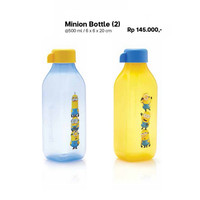 Jual Tupperware Eco Minion Bottle 500 ml Tempat Minum Botol Minnion 500ml  Murah