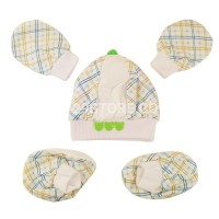 Set Topi Sarung Tangan Kaos Kaki Bayi Newborn Murah