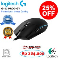 Logitech Prodigy 102 Gaming Mouse Professional Gamer Sejati VS011