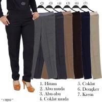 Celana Kerja ukuran JUMBO Celana panjang wanita bahan niagara
