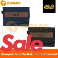 Dompet Jack Wolfskin Embankment wallet Outdoor gunung travel JWS