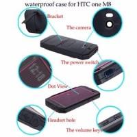 Redpepper Waterproof Lifeproof HTC ONE M8 White
