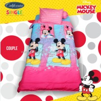 BEDCOVER SET CALIFORNIA MICKEY MOUSE COUPLE DISNEY SINGLE 120 No.3 BCS