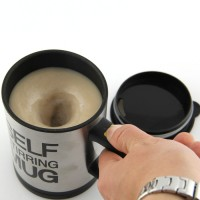 Jual Jual          Automatic Self Stirring Mug Steering Coffee Cup Gelas Murah