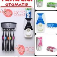Harga dispenser odol tempat pasta gigi sikat gigi otomatis keren | Pembandingharga.com
