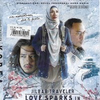 DVD Jilbab Traveler Love Sparks in Korea