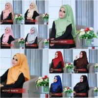 Jilbab Instant/Hijab Instan Ribboni