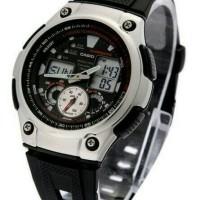 Jam Tangan pria/ jam tangan Casio AQ190W -1A original