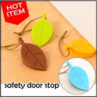 Pengaman/Penahan/Penganjal Pintu Model Daun Unik (Safety Door Stop)