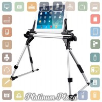 Lazypod Flexible Foldable Tablet PC Smartphone Stand - Black`6ELYFT-