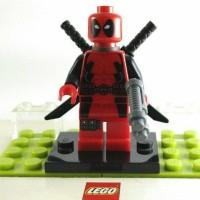 Jual Lego Minifigure Deadpool  from Set 6866 Wolverine's Chopper Showdown Murah