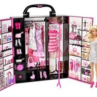 Barbie and Nice Closet X4833-04291 MATTEL Doll Girls Toy Japan import
