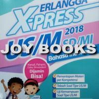 BUKU EXPRESS ERLANGGA BAHASA INDONESIA SD / BUKU LATIHAN SOAL UN SD