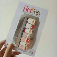 Jual heinails nailsticker - stiker kuku christmas santa claus HN0168 Murah