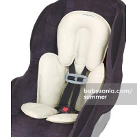 Summer Infant Velboa Snuzzler Head & Body Support Ivory T2909