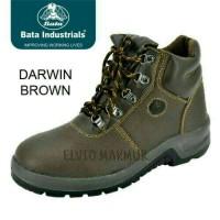 sepatu safety merk BATA/DARWIN BROWN