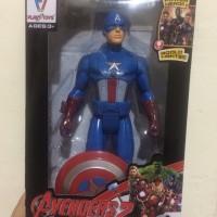 Mainan Anak Figure Tokoh Marvel Avanger Captain America